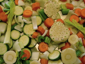 Vegetables for Stock